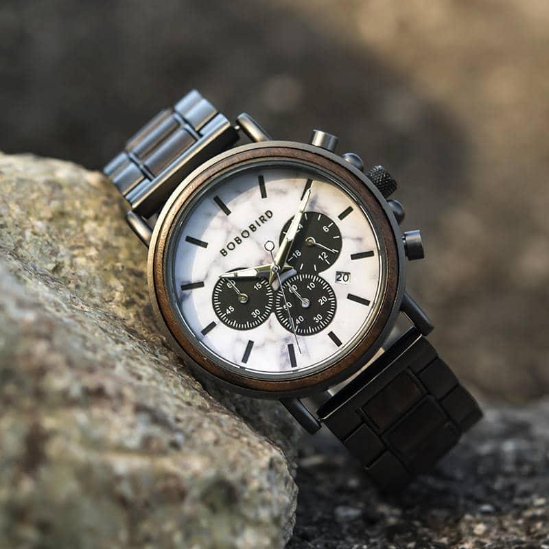 wooden watches for men Aurora P09-5-6