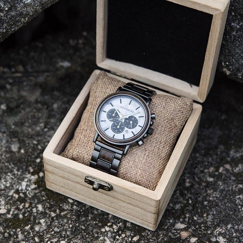wooden watches for men Aurora P09-5-9