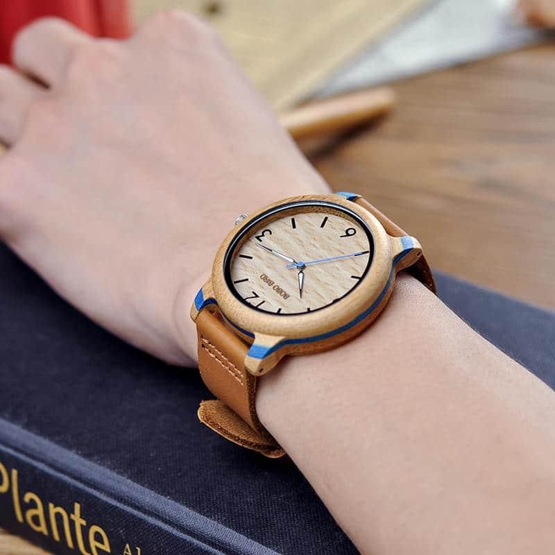 Couple Bamboo Wristwatch 3