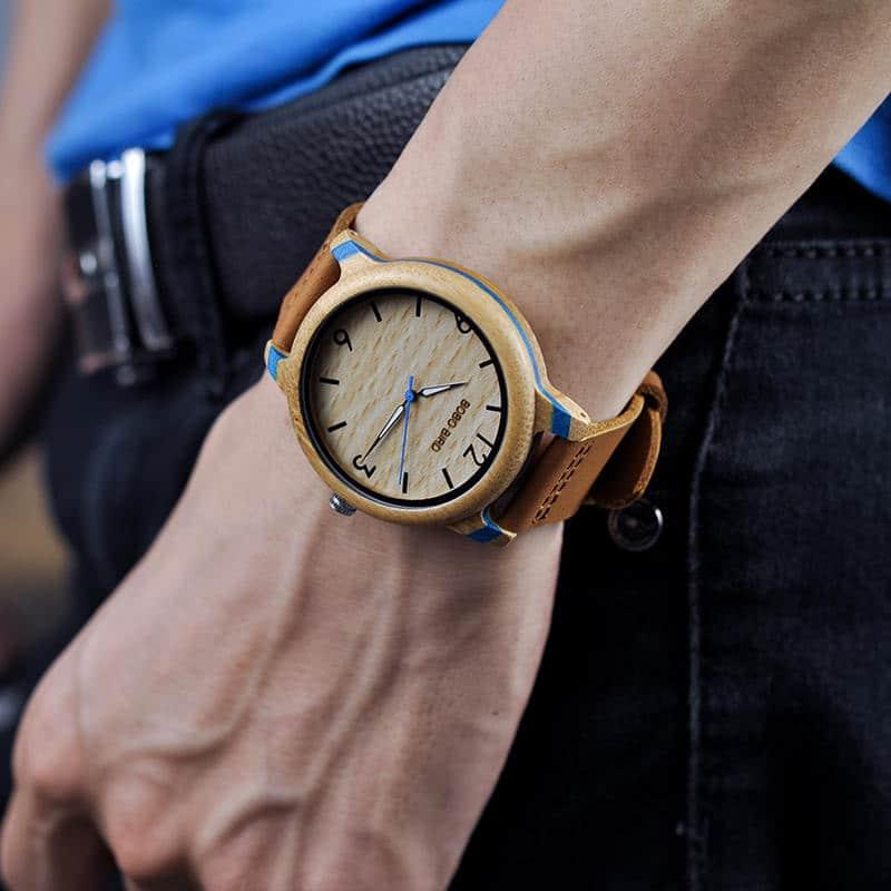 Couple Bamboo Wristwatch 4