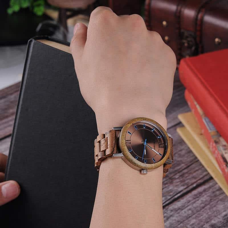 Ebony Olive Wristwatch Series 3
