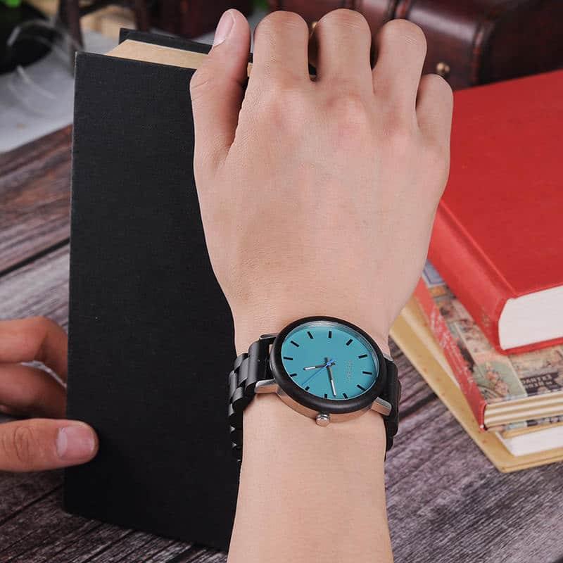 Ebony Olive Wristwatch Series