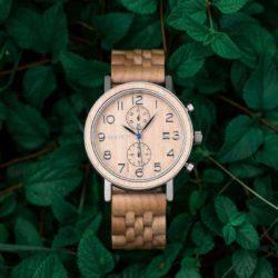bobo bird wooden watches for men Socrates - Maple S08-2