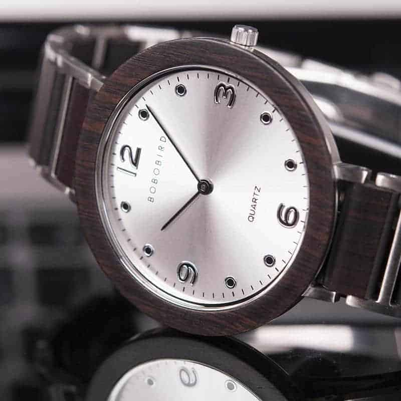 Fashion Super Thin Wooden Watches s16 BOBO BIRD