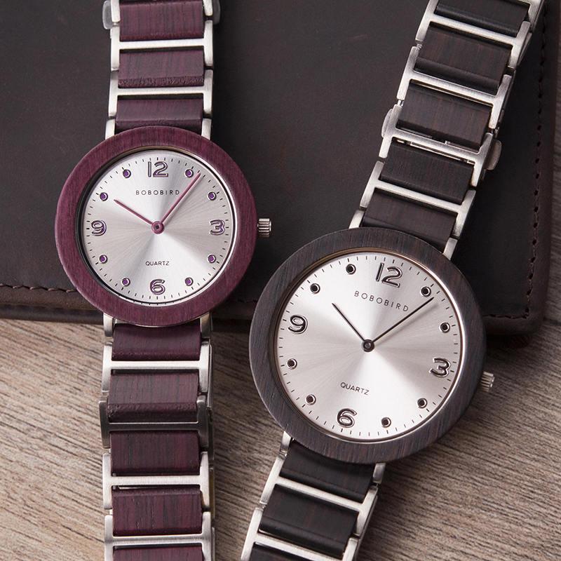 Fashion Super Thin Wooden Watches s16 8 BOBO BIRD