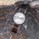 Fashion Ultra Thin Ebony Wooden Watches S16-1-4