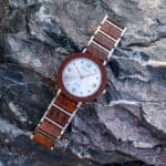 Fashion Ultra Thin Koa Wooden Watches S16-2-5