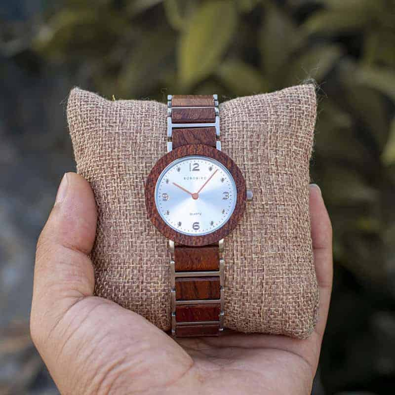 Fashion Ultra Thin Koa Wooden Watches S16-2-6