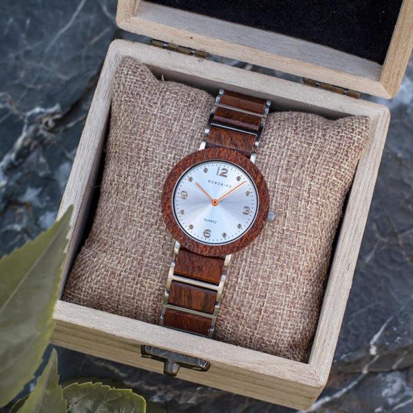 Fashion Ultra Thin Koa Wooden Watches S16-2