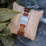 Fashion Ultra Thin Koa Wooden Watches S16-2-8