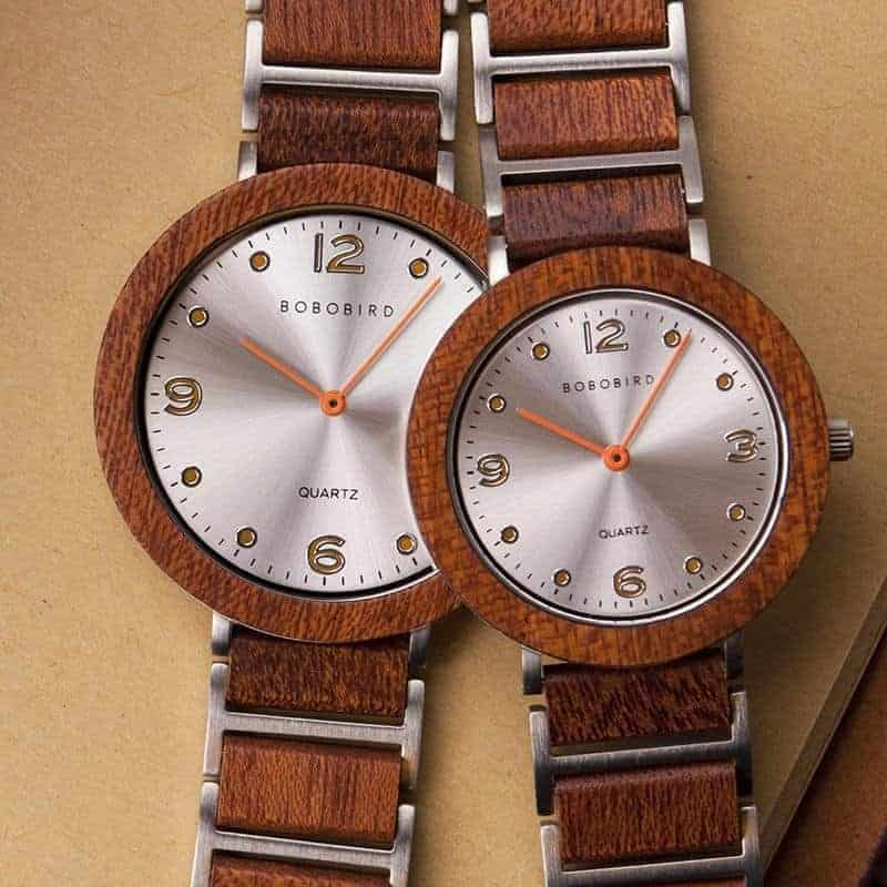 Fashion Ultra Thin Violet Wooden Watches 2