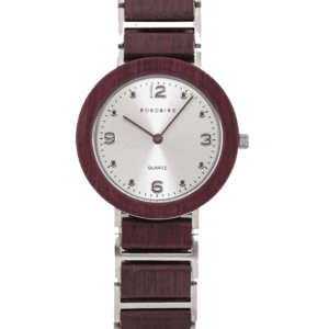 Fashion Ultra Thin Violet Wooden Watches S16-3