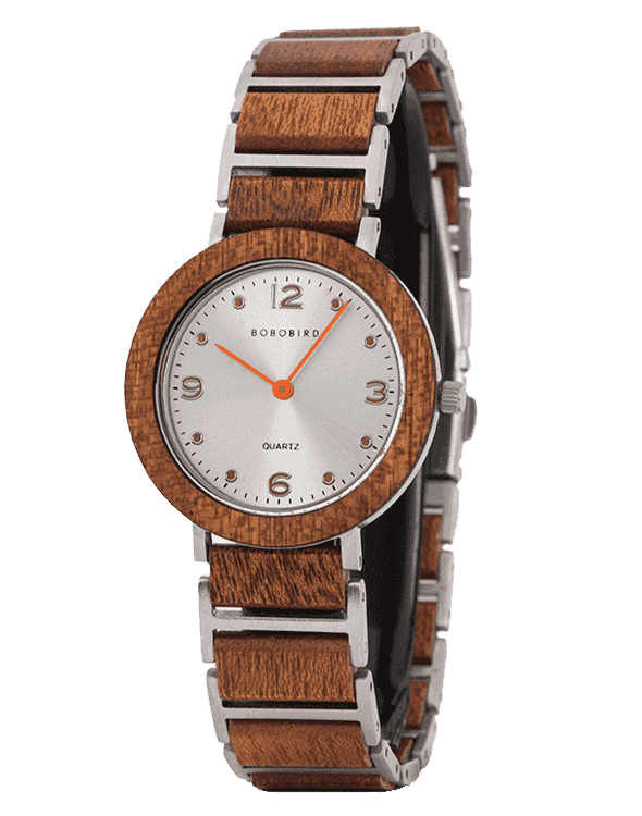 Fashion Ultra Thin Sapele Wooden Watches S16-4