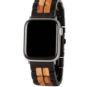 NATURAL WOODEN APPLE WATCH BANDS S17-3