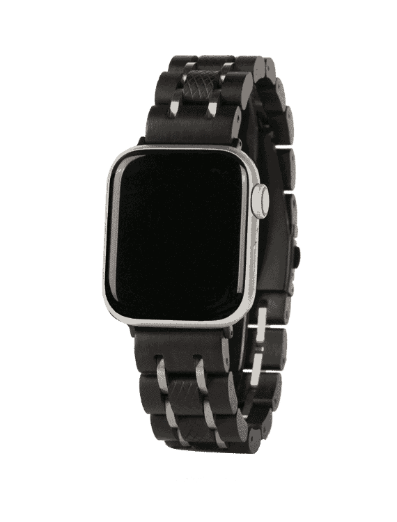 NATURAL WOODEN APPLE WATCH BANDS S17-1