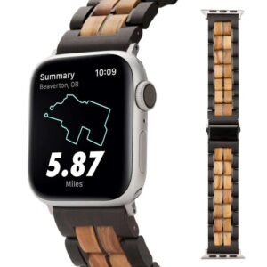 Natural Wood Bands for Apple Watch