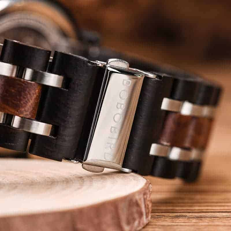 bobo bird wooden watches for men Lancelot - Teak S18-2-3