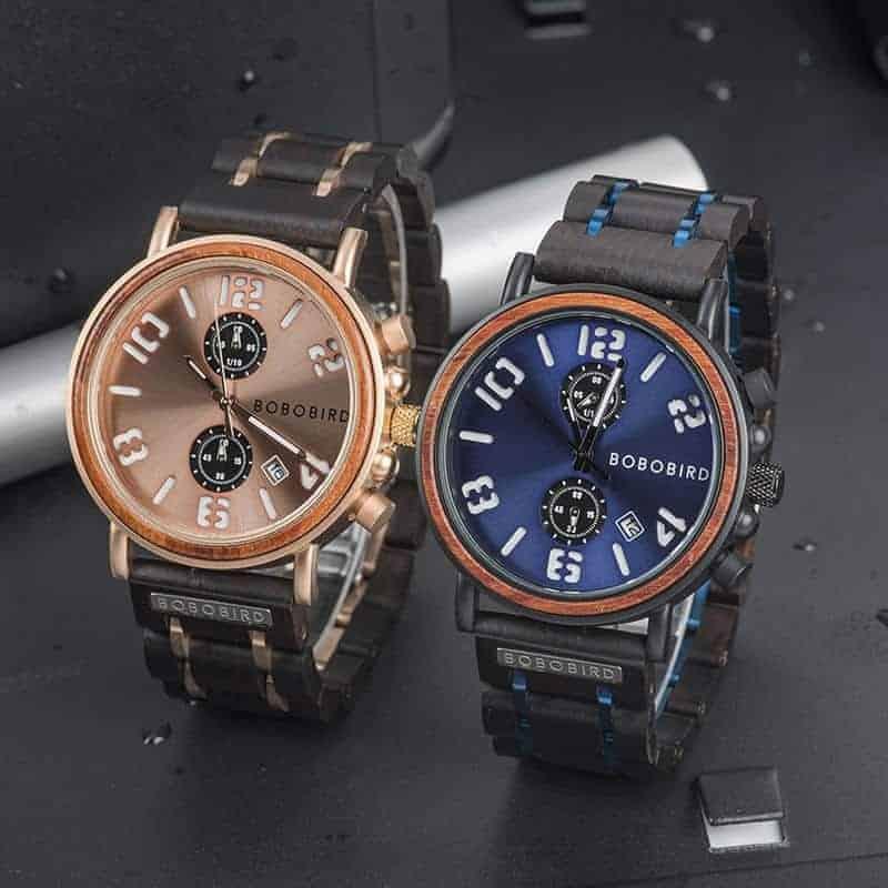 BOBO BIRD Wooden Watches S26 Series 10