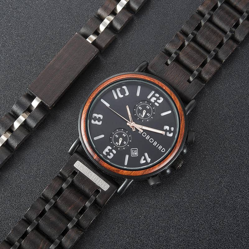 BOBO BIRD Wooden Watches S26 Series 5