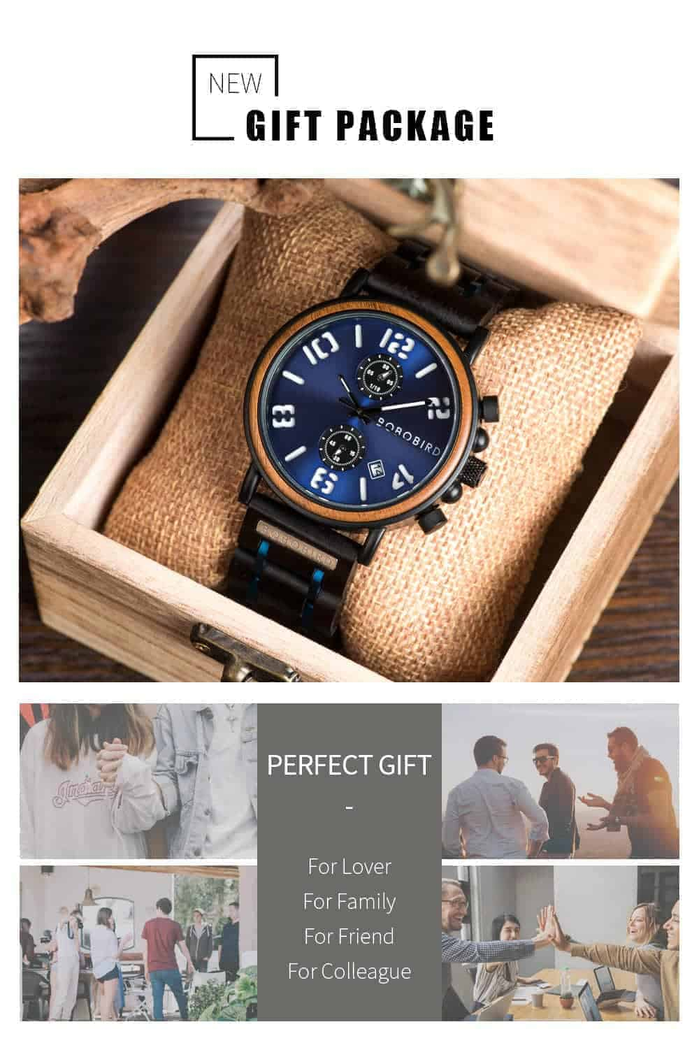 BOBO BIRD Wooden Watches S26 Series Product Details 10