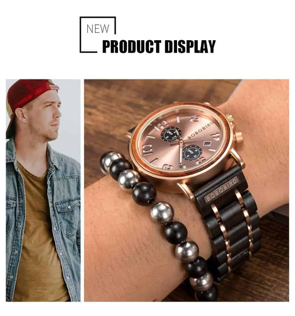 BOBO BIRD Wooden Watches S26 Series Product Details 4