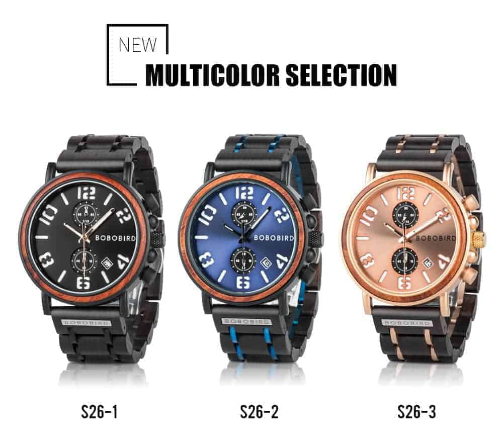 BOBO BIRD Wooden Watches S26 Series Product Details 6