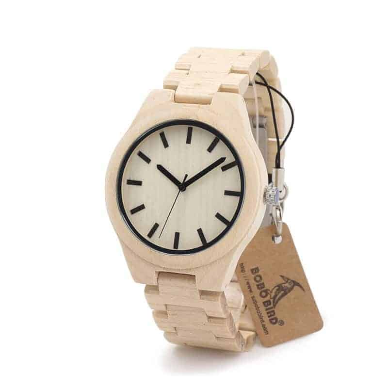 Bamboo Wooden Watches-G30-2