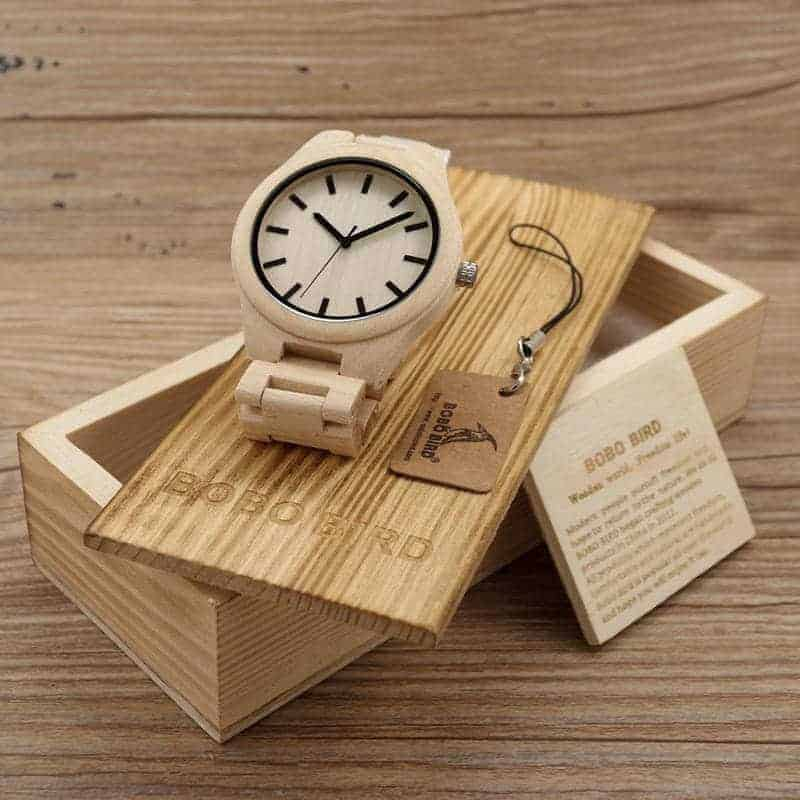 Bamboo Wooden Watches G30 6