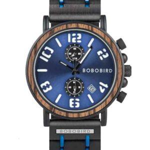 BOBO BIRD Men's Vintage Wooden Watches Handmade S26-5