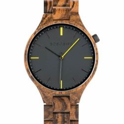 GENTLEMAN Collection Handmade Snakewood Wooden Watch S27-2