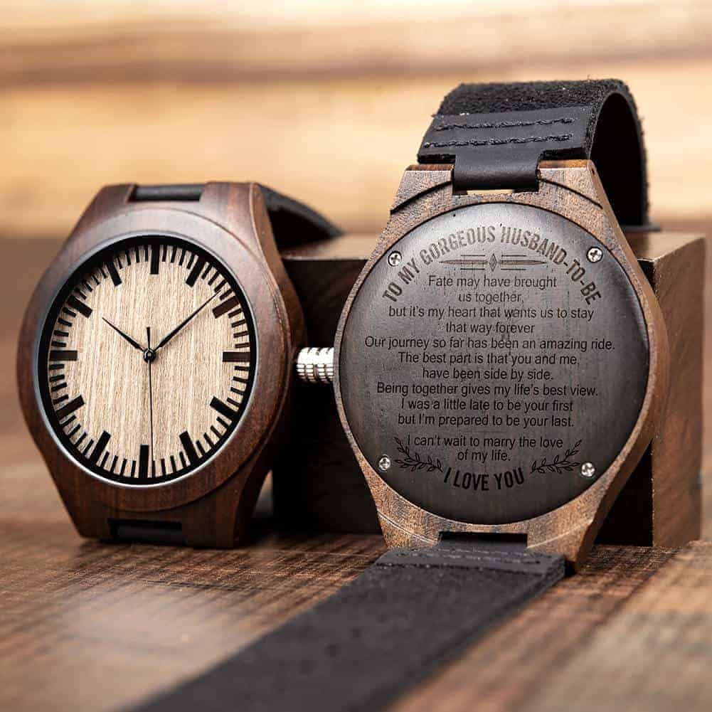 engraved wooden watches 17