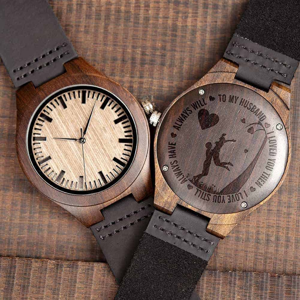 engraved wooden watches 7
