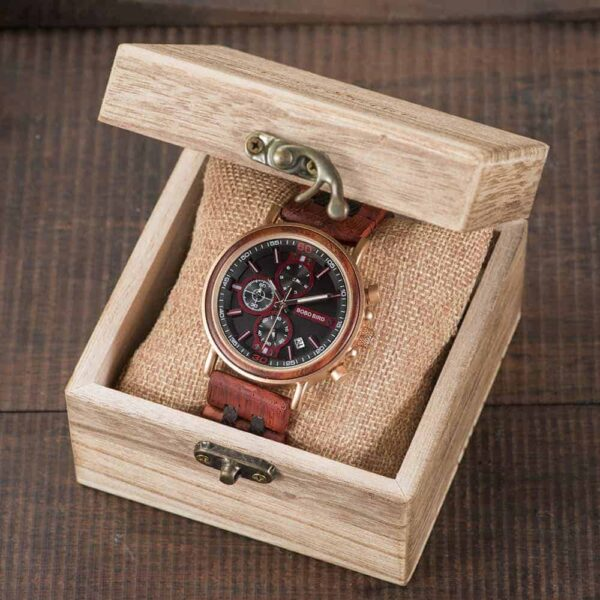 bobo bird wooden watches for men