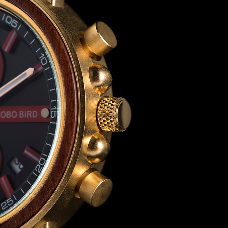 bobo bird wooden watches for men Schlosspark S18-4-2