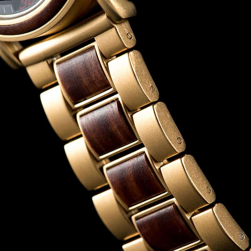 bobo bird wooden watches for men Schlosspark S18-4-3