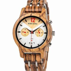 zebrawood watches for women