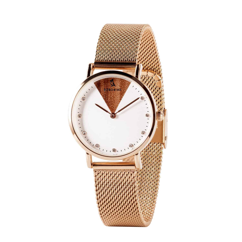 Women's Stainless Steel Simple Quartz Watch