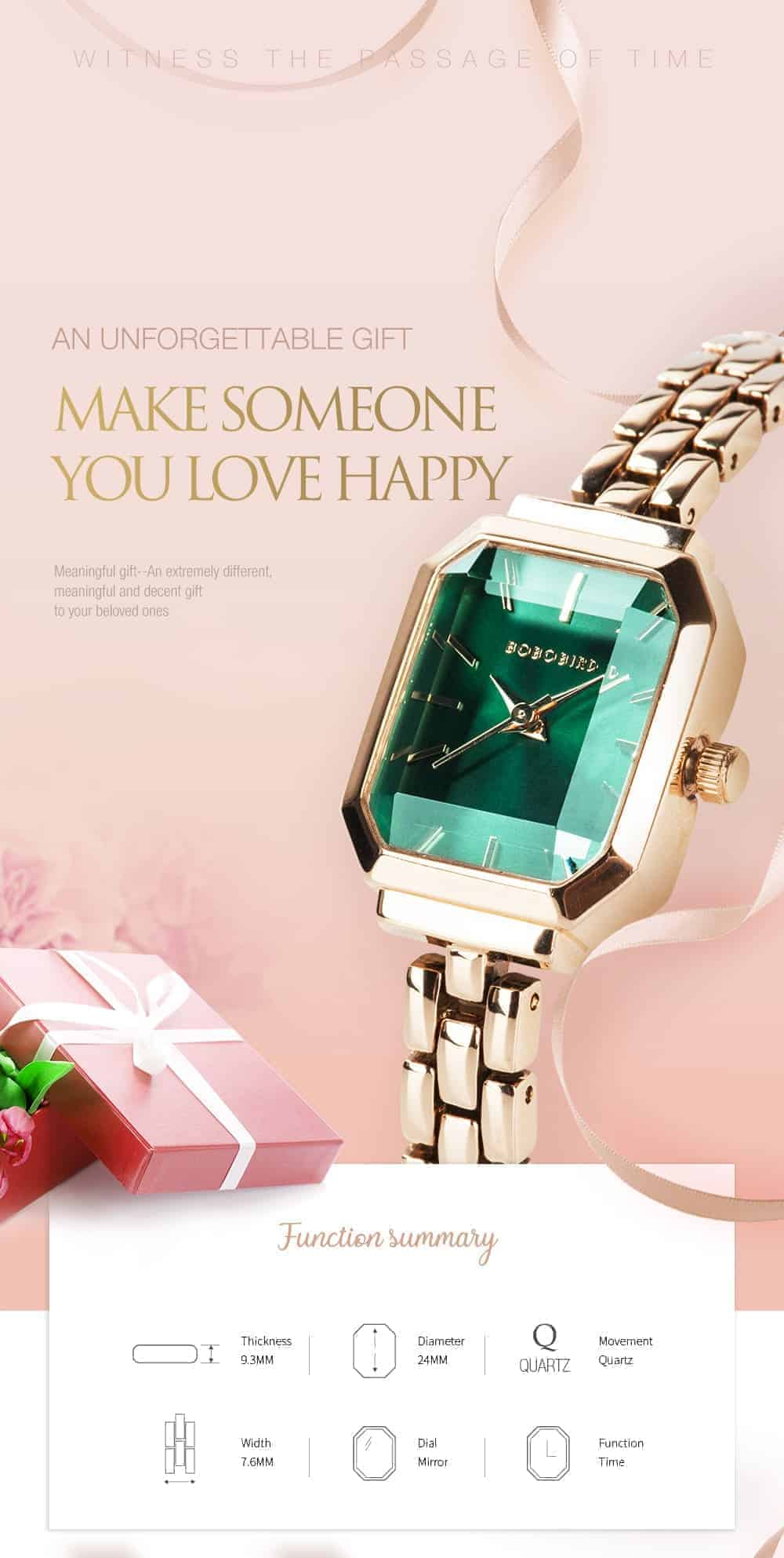 Womens Stainless Steel Simple Quartz Watch T10 3 1