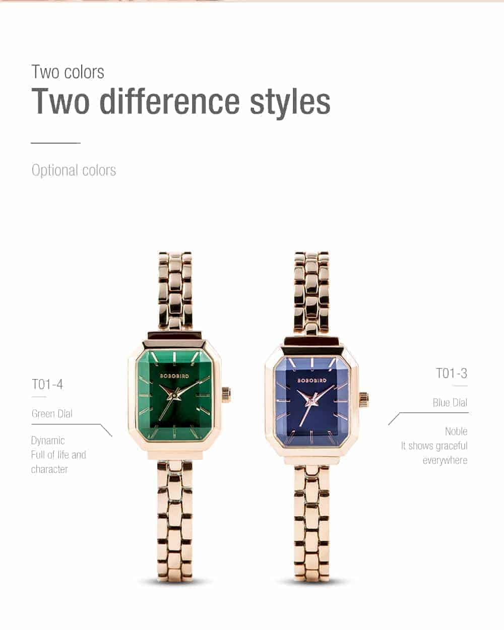 Womens Stainless Steel Simple Quartz Watch T10 3 3