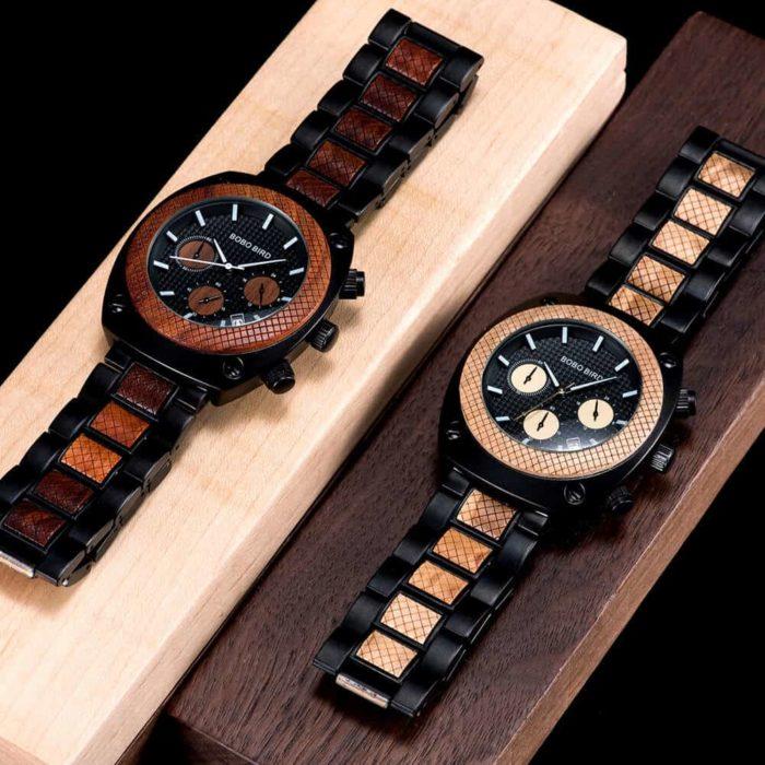 Commander Collection Handmade Wooden Watches T17 1 7 BOBO BIRD