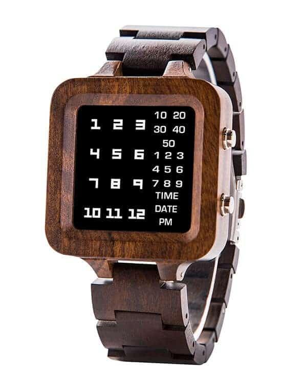 Digit Displayed wooden Watches by BOBO BIRD