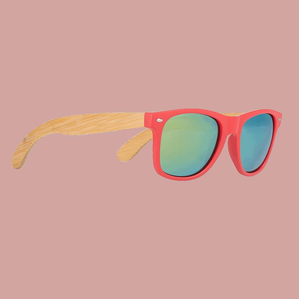 Handmade Bamboo Wood Sunglasses CG003c-1