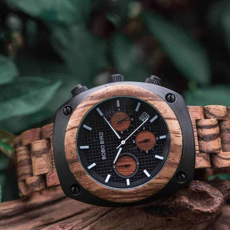 Wooden Watches for Men T08-4-4