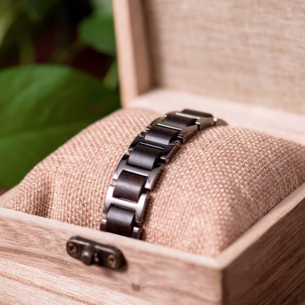 Wooden bracelets WB-1-6