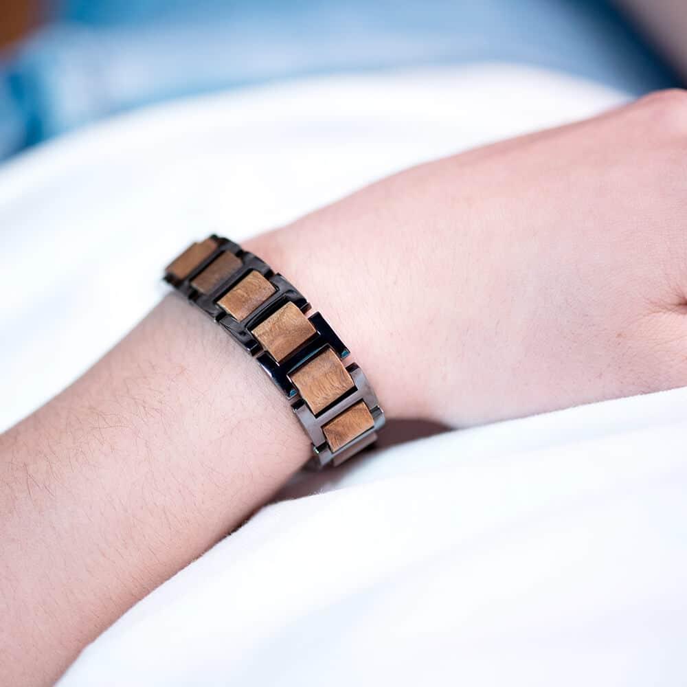 Wooden bracelets WB-2-5