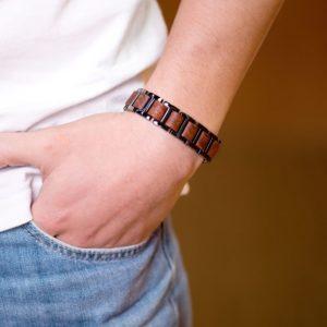 Wooden bracelets by BOBO BIRD