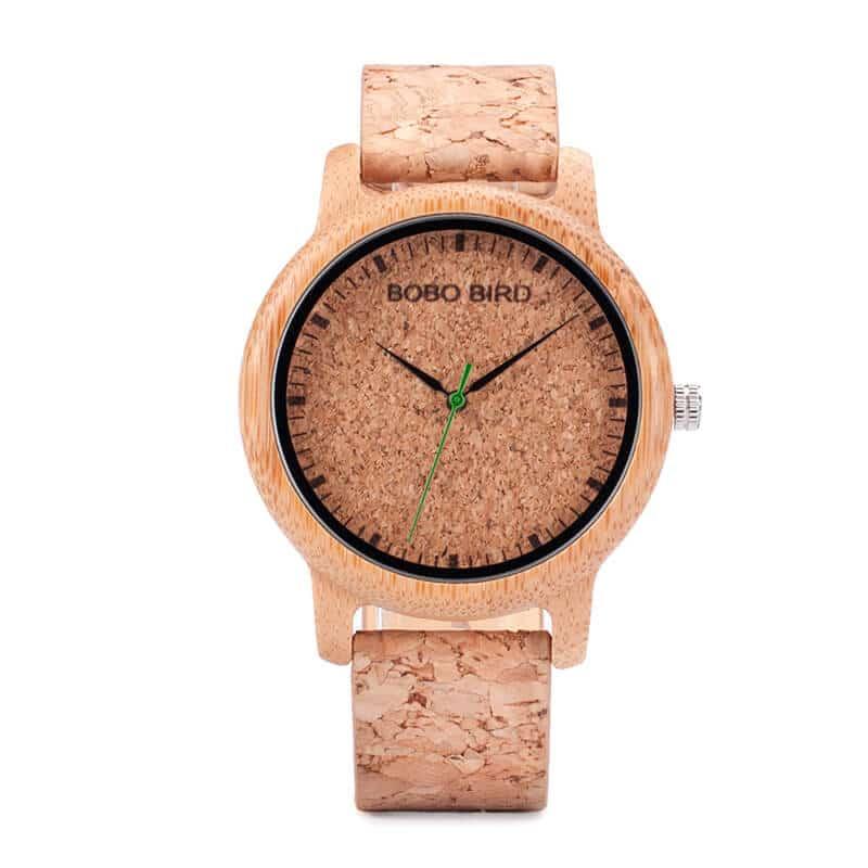 wooden bamboo wrist watch for men M11-2