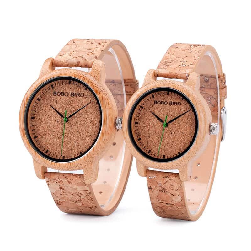 wooden bamboo wrist watch for men M11-4