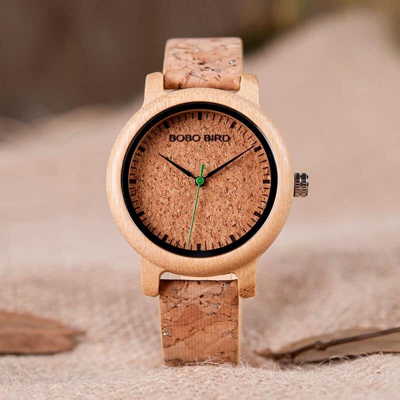 wooden bamboo wrist watch for men M11 6