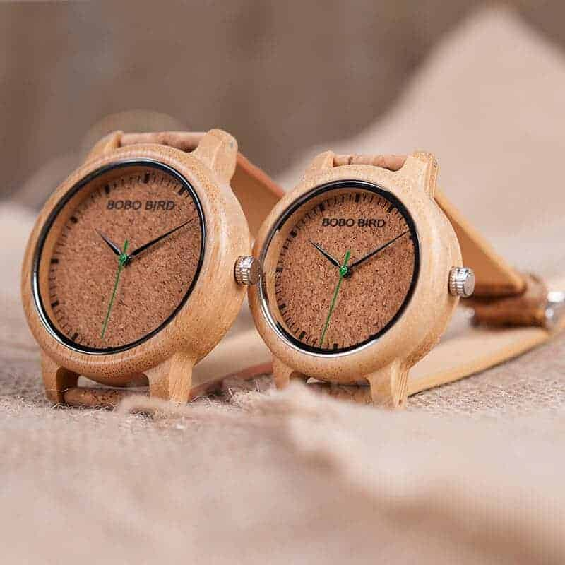 wooden bamboo wrist watch for men M11 7